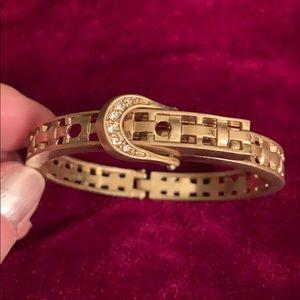 Unique Gold & Sparkly Bracelet